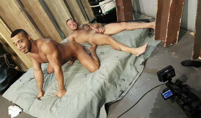 Ali Liam Micah Brandt Gay Porn Behind The Scenes