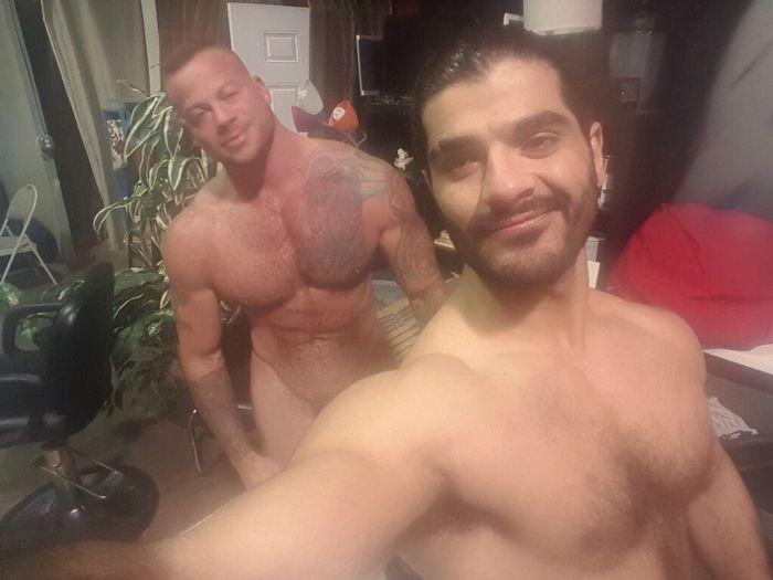 Ali Liam Sean Duran Gay Porn Behind The Scenes