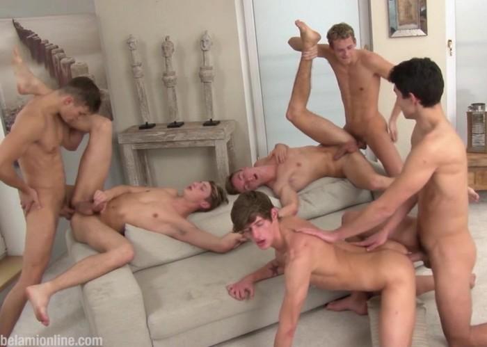 BelAmi Gay Porn Bareback Orgy Hoyt Kogan Antony Lorca Jerome Exupery Michel Seberg Christopher Caan Casey Robinson