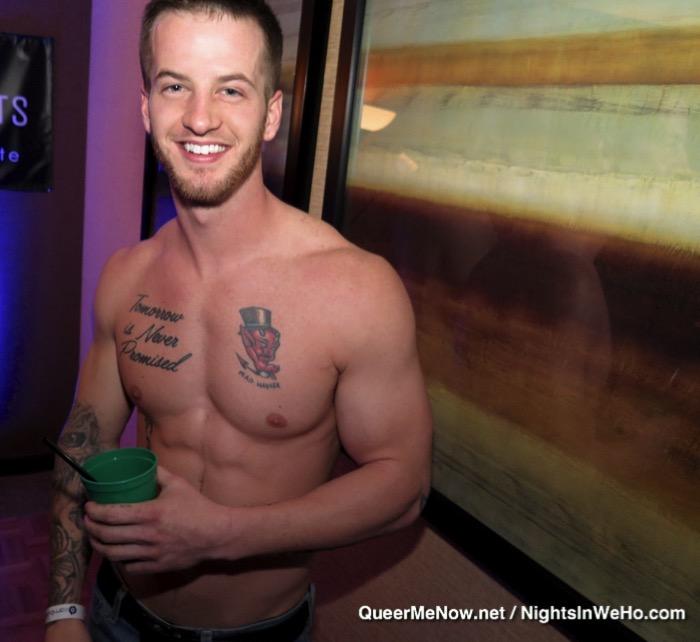 tatoo left nipple gay