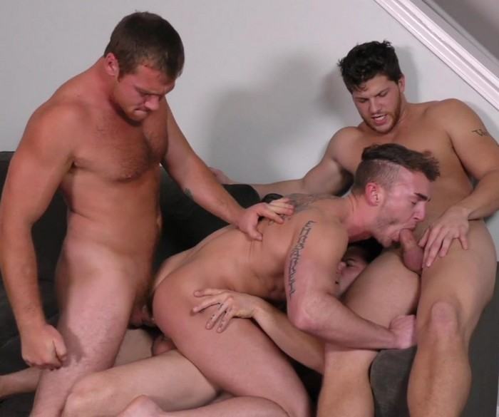 Jake Ashford Gay Porn GangBang Double Penetration Connor Maguire