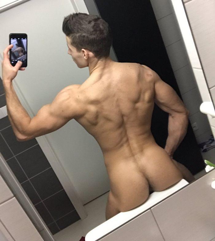 Gay Porn Star Selfie