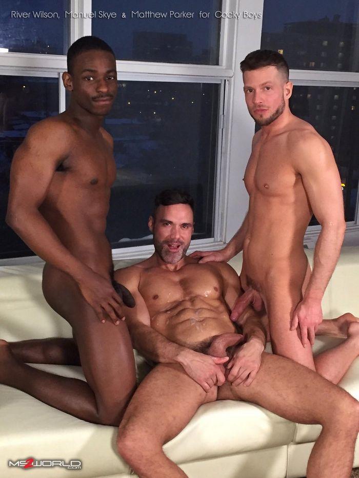 Manuel Skye River Wilson Matthew Parker Gay Porn CockyBoys