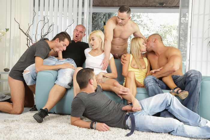 Top video: Bisexual Orgy - pissing Hot and Sexy :) (23m:30s).