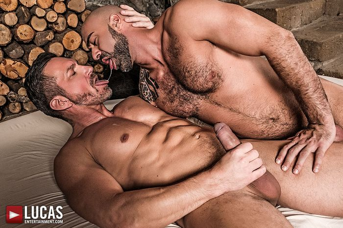 Tomas Brand Gay Porn Angelo Di Luca Bareback Sex Muscle Daddies