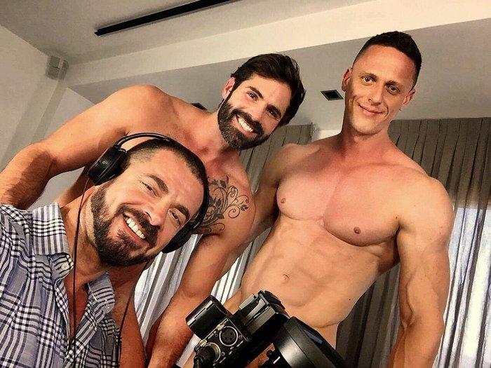 Dani Robles Ivan Gregory Carlos Caballero KristenBjorn Gay Porn Stars