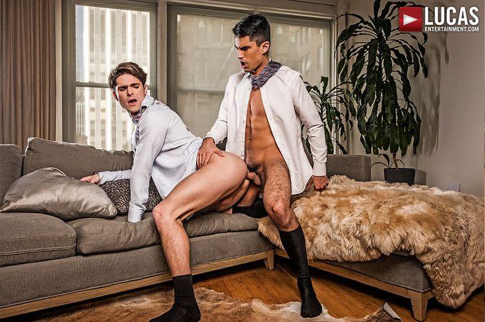 Devin Franco Lee Santino Gay Porn Bareback Sex