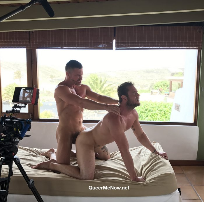 Gay Porn Behind The Scenes Tomas Brand Fucks Ace Era Bareback Lanzarote