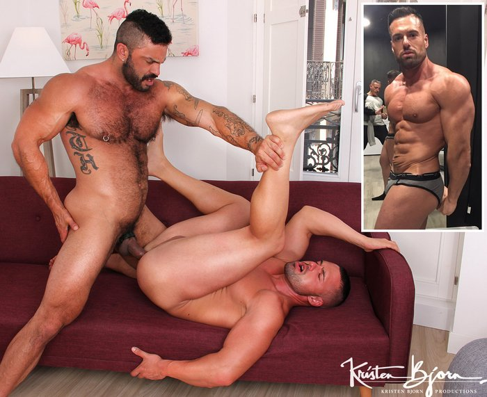 Gay Porn Gabriel Lunna Rogan Richards Bodybuilder Sex KristenBjorn