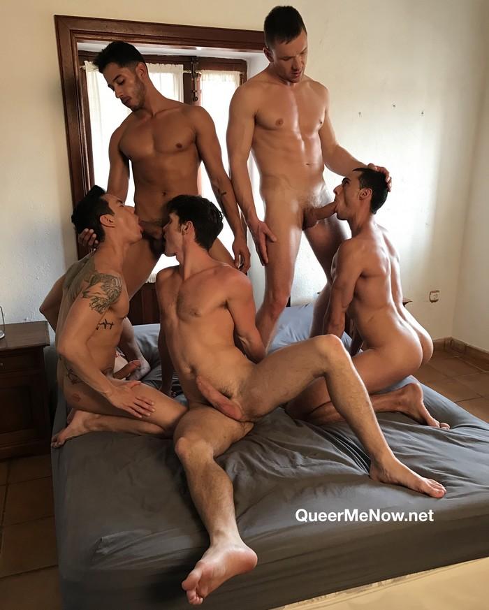 Gay Porn Orgy Devin Franco Andrey Vic Javi Velaro Drae Axtell Angel Cruz