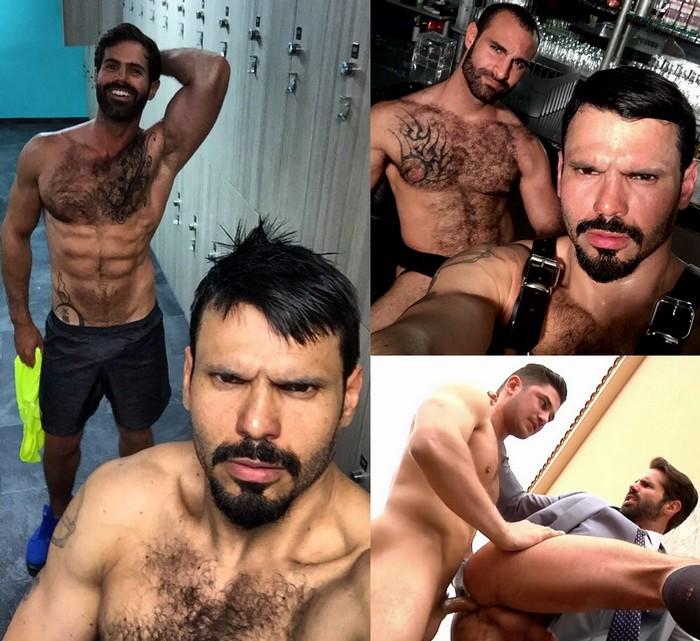 Gay Porn Stars Jean Franko Dani Robles Paco Dato Foland