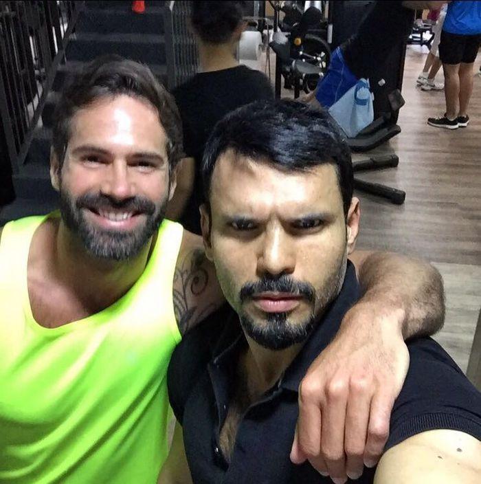 Jean Franko Dani Robles Gay Porn Star Gym