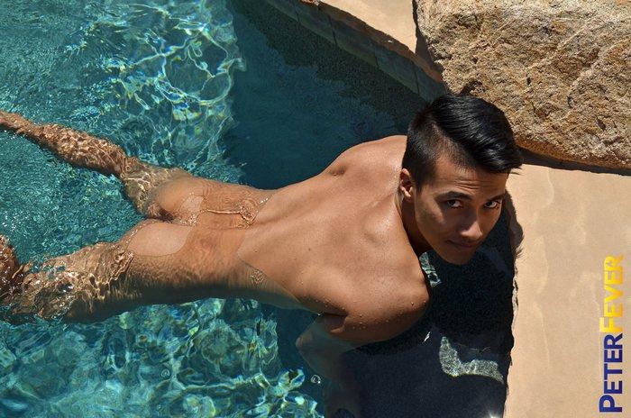 Ken Ott Gay Porn Star Asian Muscle Jock PeterFever