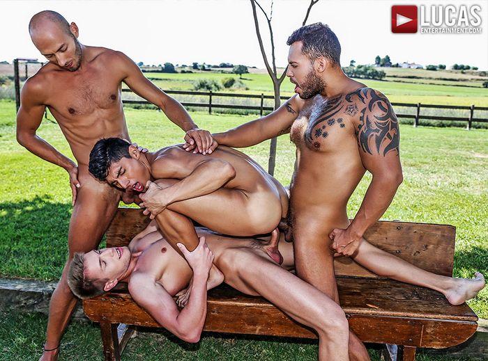 Ken Summers Gay Porn Double Penetration Gang Bang Viktor Rom Bogdan Gromov Dominic Arrow