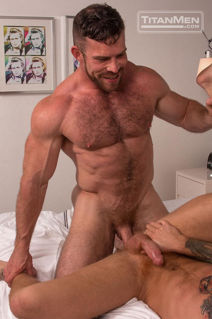Liam Knox Gay Porn Muscle TitanMen Bennett Anthony