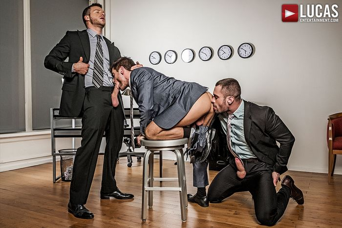 Stas Landon Jack Andy Brian Bonds Gay Porn Bareback Sex Suit