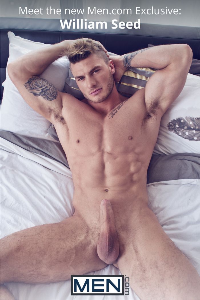 William Seed Gay Porn Star Men Exclusive Canadian Muscle Hunk