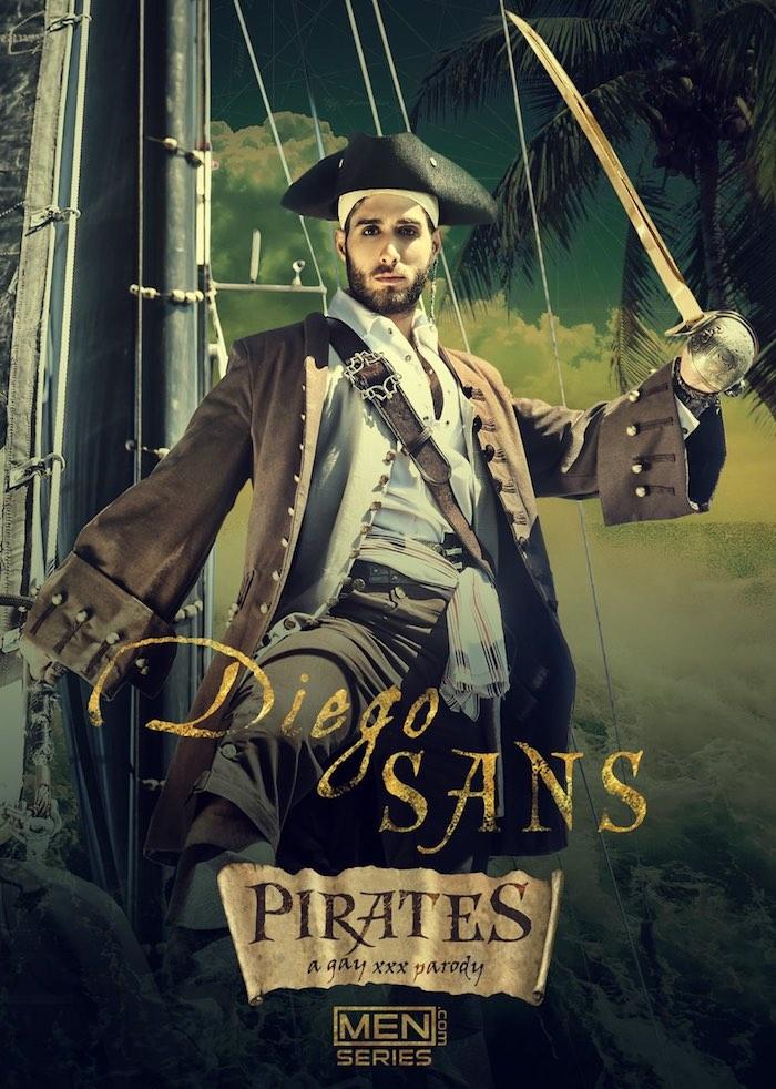 Diego Sans Gay Porn Parody Pirates of the Caribbean