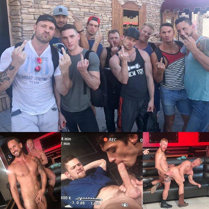 Gay Porn Behind The Scenes Dakota Rivers JohnnyV Kurtis Wolfe Jack Vidra