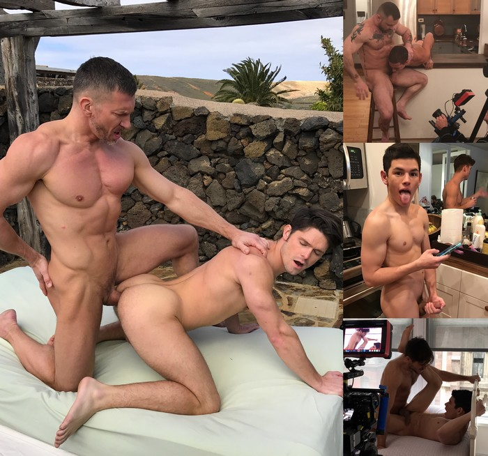 Gay Porn Behind The Scenes Tomas Brand Devin Franco Ricky Verez Sergeant Miles