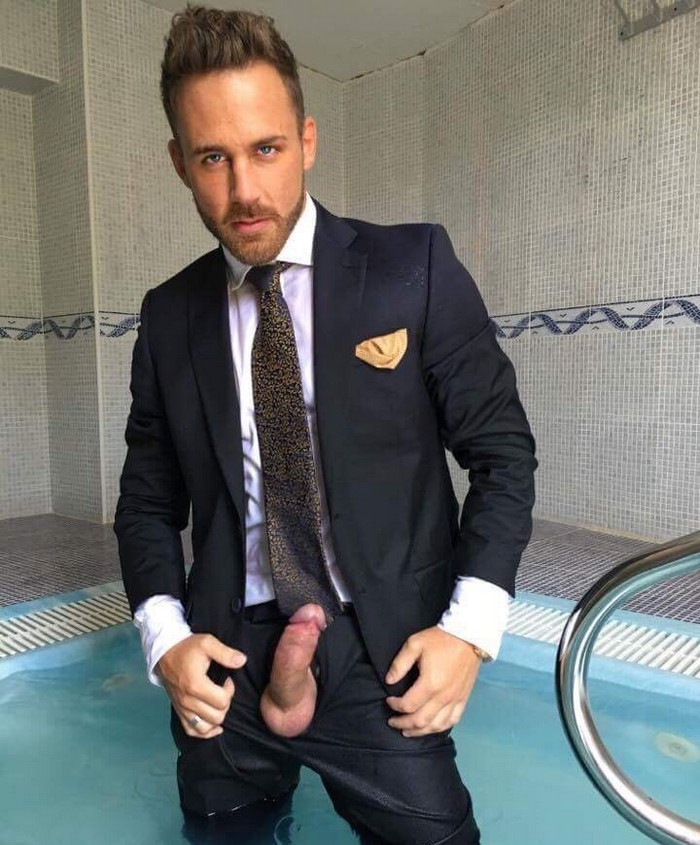 from Kylen gay business suit sex