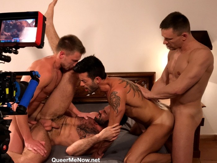 Gay Porn Behind The Scenes Dani Robles Andy Star Andrey Vic Bogdan Gromov