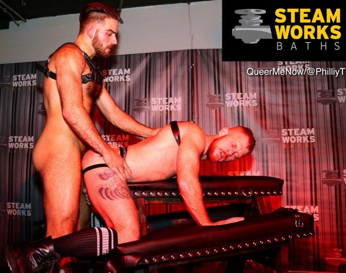 Gay Porn Jackson Grant Jack Vidra Live Sex Show Steamworks