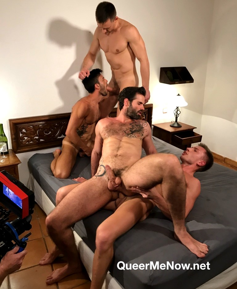Gay Porn Orgy Behind The Scenes Andrey Vic Bogdan Gromov Dani Robles Andy Star