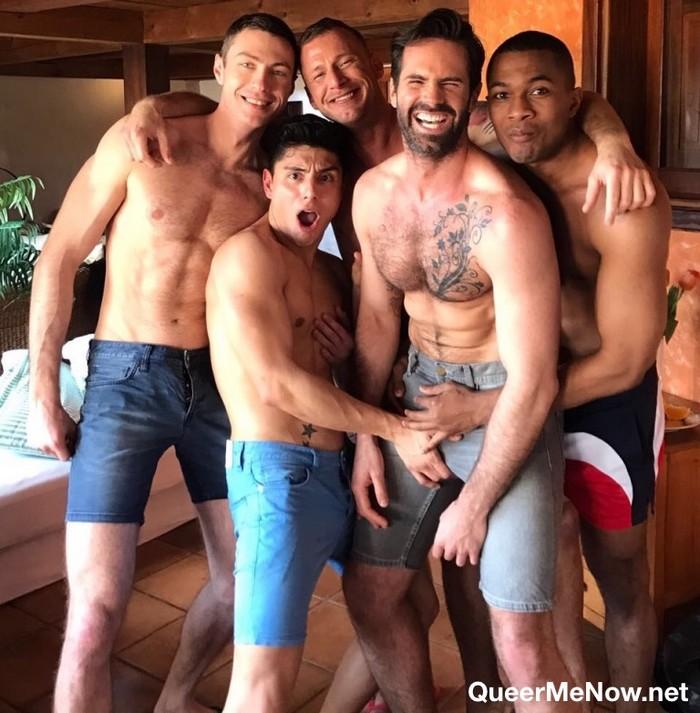Gay Porn Orgy Dani Robles Sean Xavier Ken Summers Logan Rogue Ralph Novak