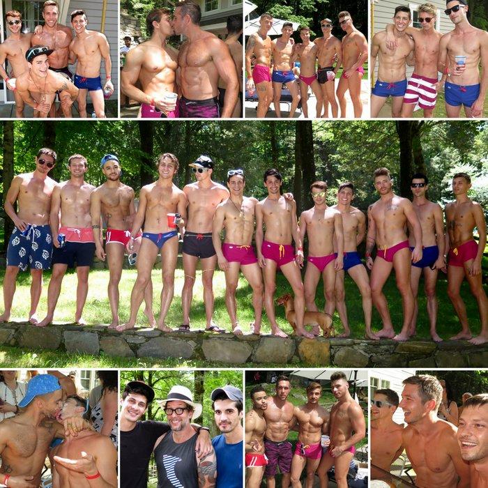 Gay Porn Stars CockyBoys 10 Anniversary Pool Party