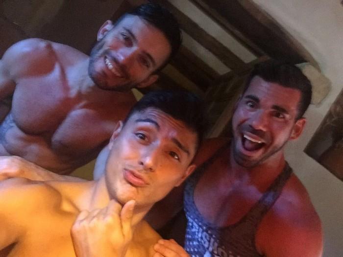 Billy Santoro Ken Summers Andy Star Gay Porn Selfie