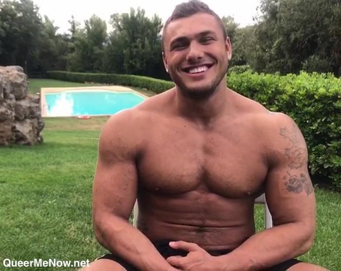 Brock Magnus Bodybuilder Gay Porn Star Shirtless Interview