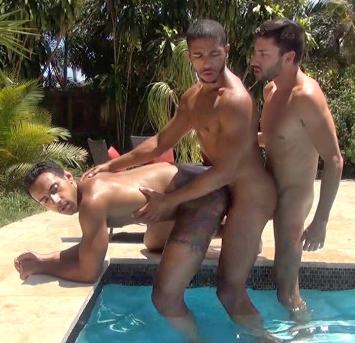 Gay Porn Bareback Sex Jay Alexander Scott DeMarco Mike Maverick