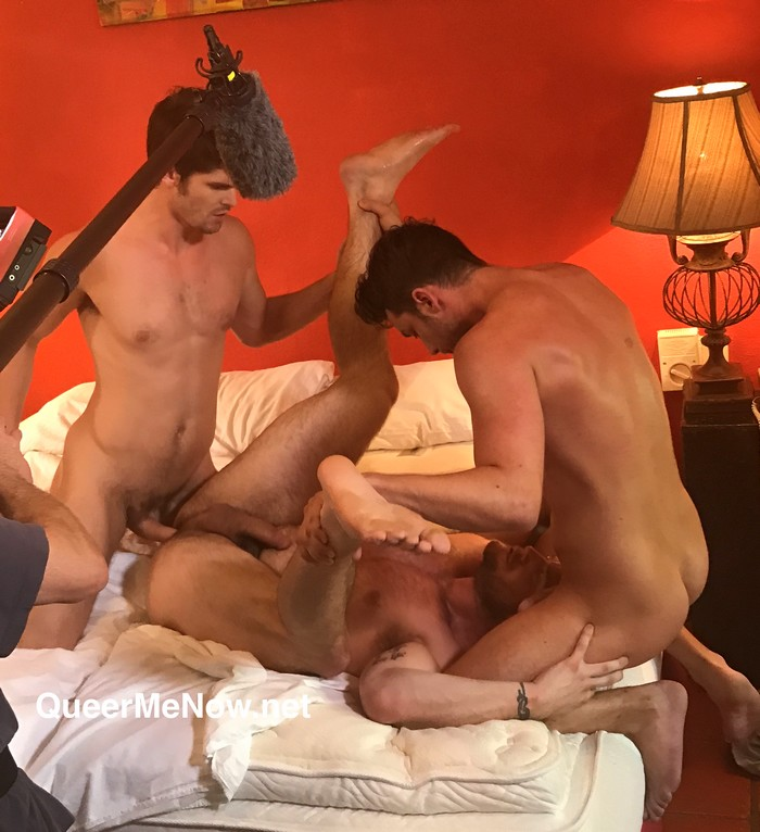 Gay Porn Behind The Scenes Devin Franco Damon Heart Ace Era