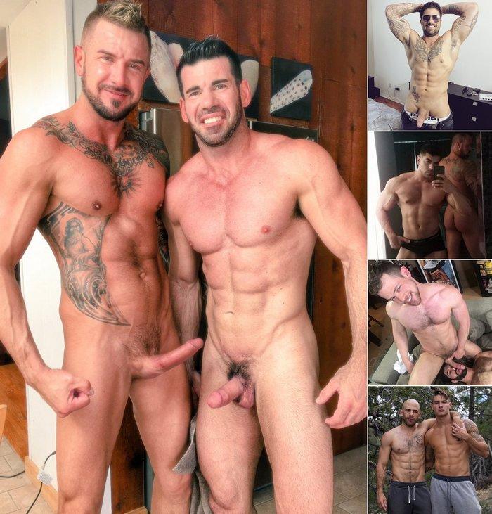 Gay Porn Billy Santoro Dolf Dietrich Ryan Bones Damien Stone Kurtis Wolfe Clark Parker