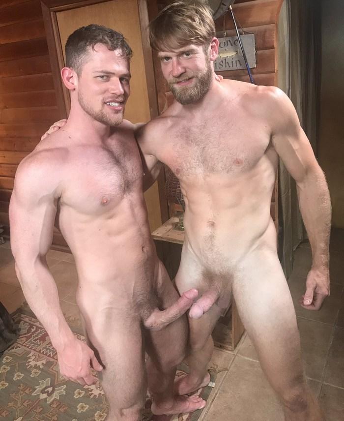 Gay Porn Stars Kurtis Wolfe Colby Keller Naked