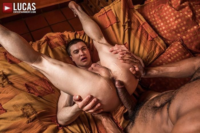 Ruslan Angelo Gay Porn Sean Xavier Big Dick Bareback Sex
