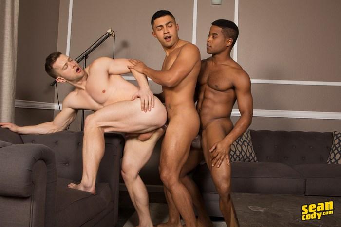 Sean Cody Gay Porn Landon Deacon Asher Bareback Interracial Sex