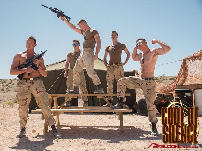 Sexy Marine Gay Porn Stars Dancing