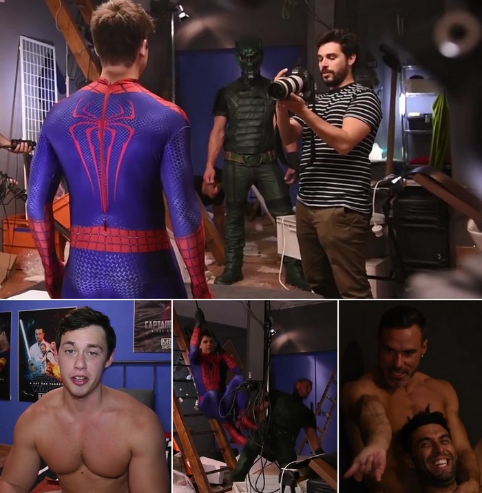 Spider-Man Gay Porn Parody Behind The Scenes