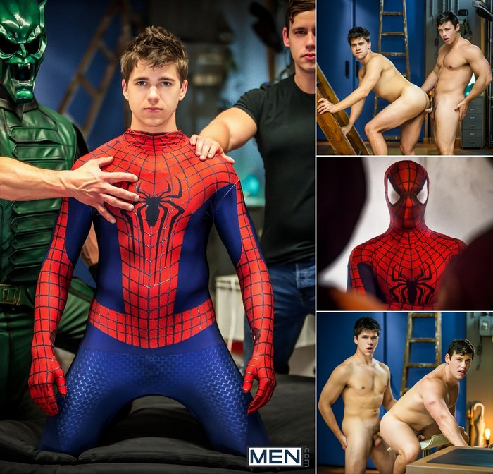 Spiderman Porn gay