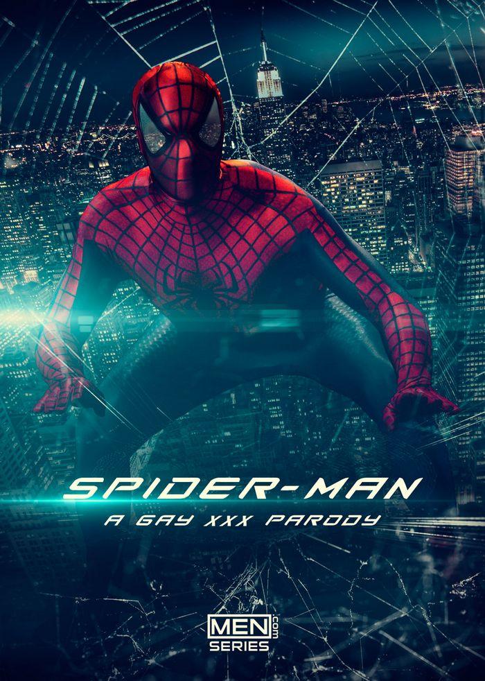Spider-Man Gay Porn Parody XXX Men dot Com