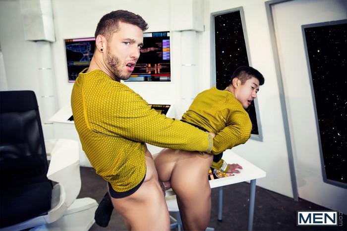 Star Trek Gay Porn Captain Kirk Sulu Rod Peterson Henier Lo