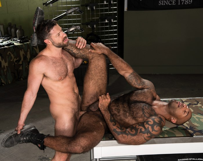 Tristan Jaxx Gay Porn Daymin Voss Hairy Chest