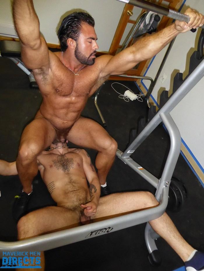 Big Muscle Pump Fuck Steve Max MaverickMenDirects Gay Porn