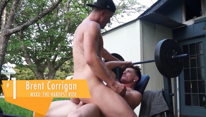 Brent Corrigan Gay Porn MXXX The Hardest Ride