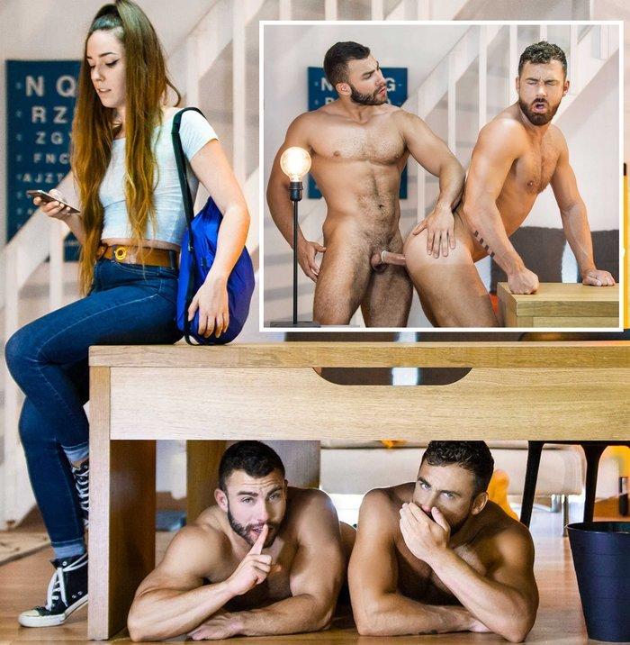 Diego Reyes Gay Porn Logan Moore SneakySex