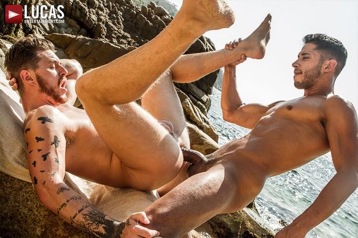 Drae Axtell Gay Porn Big Dick Josh Rider Bareback Sex Beach