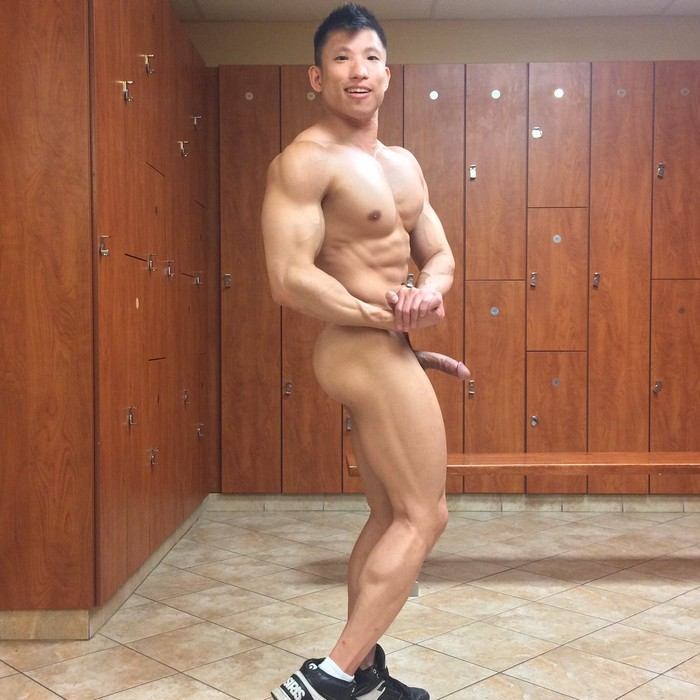 Jessie Lee Asian Bodybuilder Naked Gay Porn Star PeterFever