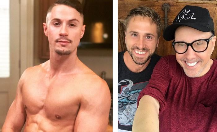 Skyy Knox Michael DelRey Gay Porn Behind The Scenes